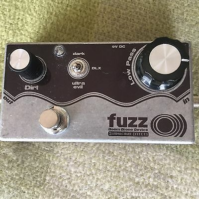 Sunmachine Effects Fuzz O))) Custom Fuzz Guitar Pedal