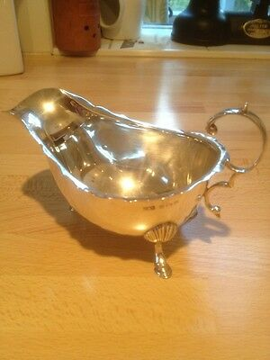 Siver Sauce Boat