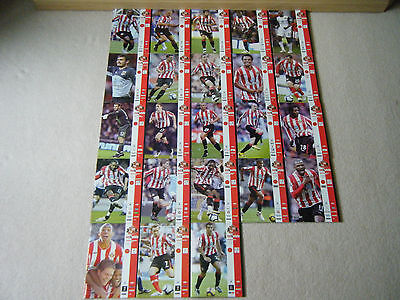 Sunderland Afc Matchday Programmes 2009-2010 X 23 Plus Official Team Sheets X 22