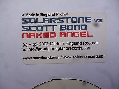 "Solarstone vs Scott Bond Naked Angel 12"" Vinyl #111"