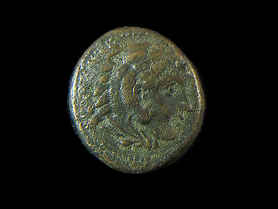 Greek coin of Alexander III The Great, AE18, 336-323 BC, Lifetime issue  CC6593