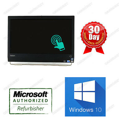 "Lenovo ALL IN ONE M90Z 0870 i5 3.2GHz 4G 500G W10P 23"" 1920x1080 Webcam Touch"