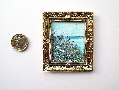 Doll House Miniature Original Handmade 1/12Th Scale Ooak Painting