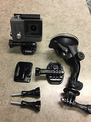 GoPro HERO+ Plus HWHM1 with LCD Screen Action Camera w/ Accessories