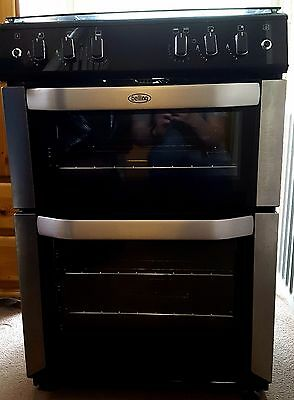 Belling Belfsg60Do Gas Cooker With Electric Grill