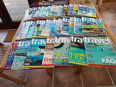 Job lot of The Sunday Times Travel Magainzes, 30 magazines