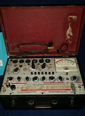 Vintage Hickok Model 600A Dynamic Mutal Conductance Tube Tester