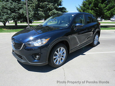 2015 Mazda CX-5 AWD 4dr Automatic Grand Touring AWD 4dr Automatic Grand Touring SUV Automatic Gasoline 4 Cyl BLUE