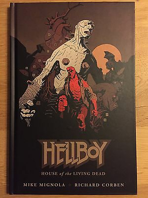 Mignola-Corben/Hellboy :House of the Living Dead EO EN PARFAIT ÉTAT (Dark Horse)