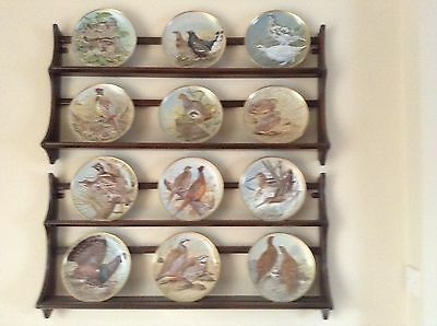 Franklin Porcelain GAME BIRDS Of THE WORLD PLATE COLLECTION