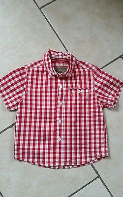Baby boy short sleeved shirt age 12-18mths from NEXT *IMMACULATE*