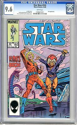 Star Wars  #102   CGC  9.6  NM+  white pages
