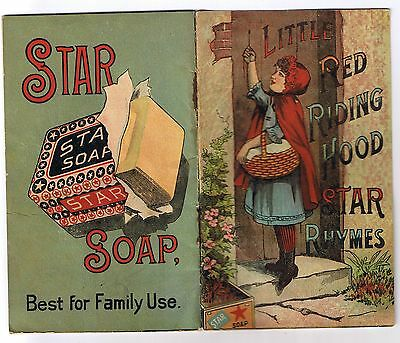 "Vintage Star Soap ""Little Red Riding Hood"" Booklet"