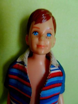 Vintage Ricky Doll with Original Swimsuit, Pink Skin Body 5 DAYS, NM!