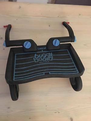 Lascal Buggy Board Mini With Connectors, Uncut Straps & Extensions