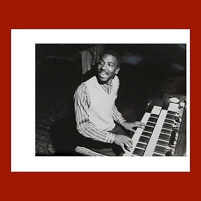 "JIMMY SMITH-ORIGINAL 1957 FRANCIS WOLFF BLUE NOTE COVER PHOTO PRINT 11"" x 14"""