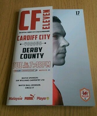 Cardiff City v Derby County 2012/13 NPower Championship The Bluebirds
