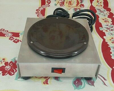 Stainless Steel switched SATELLITE COFFEE POT WARMER heater Stand Alone Burner