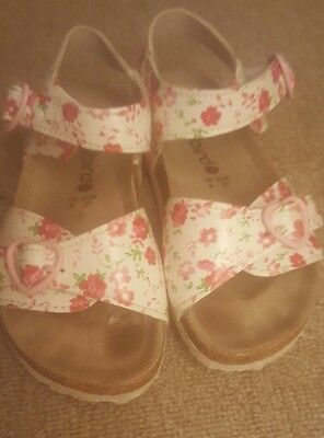 Girls Ladybird Floral Sandals UK Infant Size 9