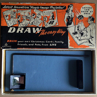 Camera Lucida Vintage Magic Image Projector - Draw the Easy Way - Retro 1950's