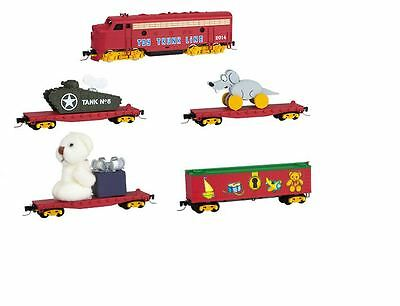 Micro-Trains Z 99421050 Christmas Toy Trunk Line Train Set - SPECIAL!