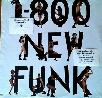 LP 1-800 New Funk Various NONA GAYE/GEORGE CLINTON/NPG/PRINCE/MAVIS STAPL