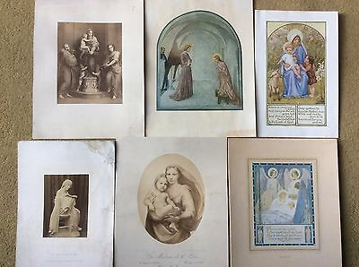 Vintage Collection of Religious Prints