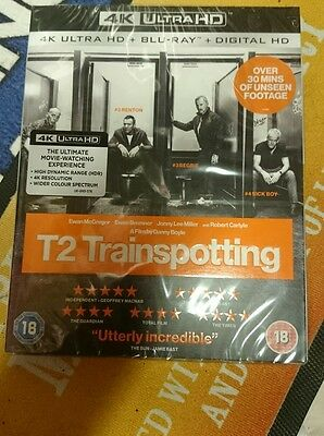 T2 trainspotting 4K Ultra HD, New and Sealed