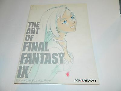 Squaresoft The Art of Final Fantasy IX Book