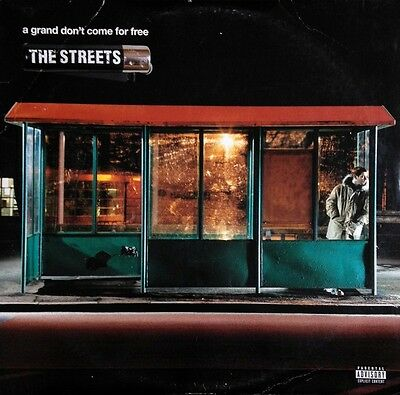 The Streets A Grand Dont Come For Free NEAR MINT Atlantic 2xVinyl LP