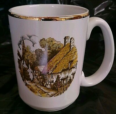 "Large ""Masonic"" Gilded Themed Tankard - Foxhall Lodge 1983 (Inscribed)"