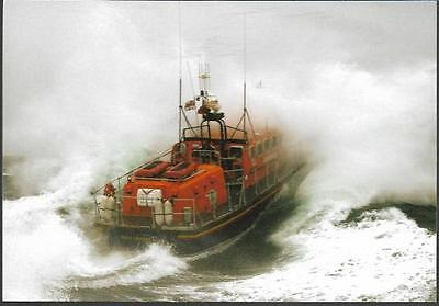 Lifeboat - Poole Tyne class 1131 'City of Sheffield' - postcard