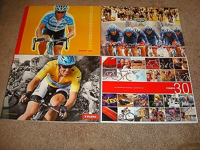 Trek Cycling Lance Armstrong Catalogs 2004 2005 2006 30 Years & 2010 Tour Guide