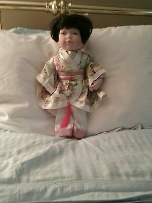porcelain japanese doll