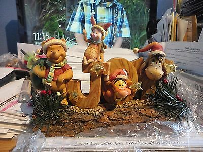 Disney Lighted Woodland Winnie the Pooh and Friends on Joy #39776 New in Box