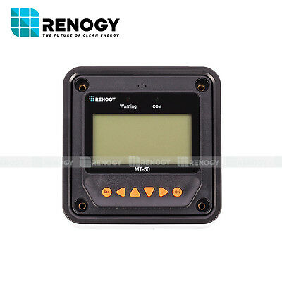 Open Box Renogy MT-50 For Tracer MPPT Charge Controller w/ LCD Display