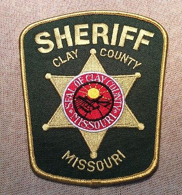MO Clay County Missouri Sheriff Patch