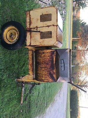 Stow Tow Behind Concrete Mortar Mixer Honda Engine Industrial