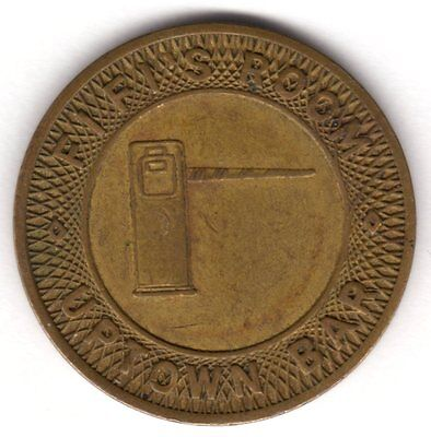Fifi's Room Uptown Bar Parcoa Token *** Scarce ***