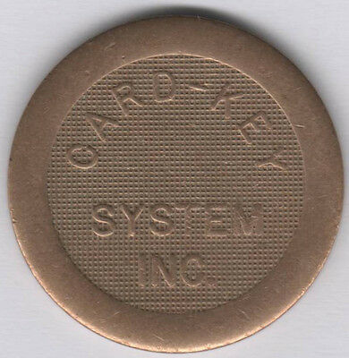 Card Key System Inc. Parking Token  *** Courtesy Parking *** Bronze 25.2 Mm