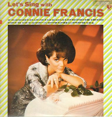 LP Connie Francis Lets Sing With Connie Francis ORIGINAL JAPANESE PRESSING