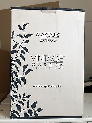 Marquis By Waterford Meduim Apothecary Jar