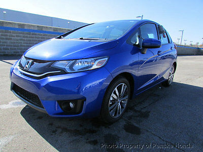 2017 Honda Fit EX-L CVT EX-L CVT New 4 dr Sedan CVT Gasoline 1.5L 4 Cyl Aegean Blue Metallic