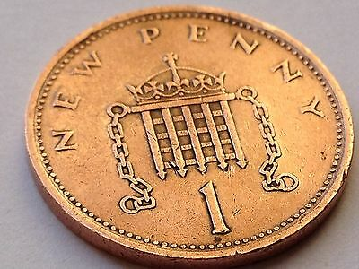 1p 1 Pence Lucky Penny Gift One Penny UK Decimal Collectible Currency 1971-2016