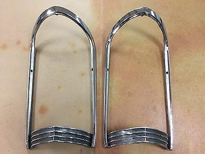 1965 Buick Riviera Clamshell Headlight Cathedral Trim