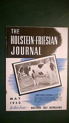Holstein-Friesian Journal 1950 Champion Producer + National Sale + Rosafe