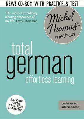 NEW Total German Foundation Course By Michel Thomas Audio CD Free Shipping