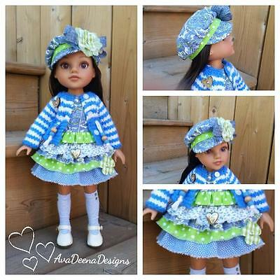 Hearts for Hearts Corolles Les Cheries  complete summer outfit clothes