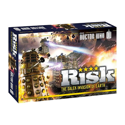 Doctor Who - The Dalek Invasion of Earth Risk Board Game - Loot - BRAND NEW