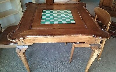 Antique Card and Games table